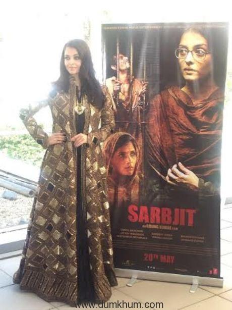 Aishwarya Rai Bachchan at Sarabjit's premiere at Cannes