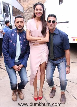 Akshay Kumar and Ritesh Deshmukh's camaraderie -
