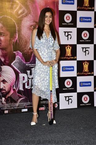 Alia Bhatt unveils 'Ikk Kudi' from Udta Punjab2