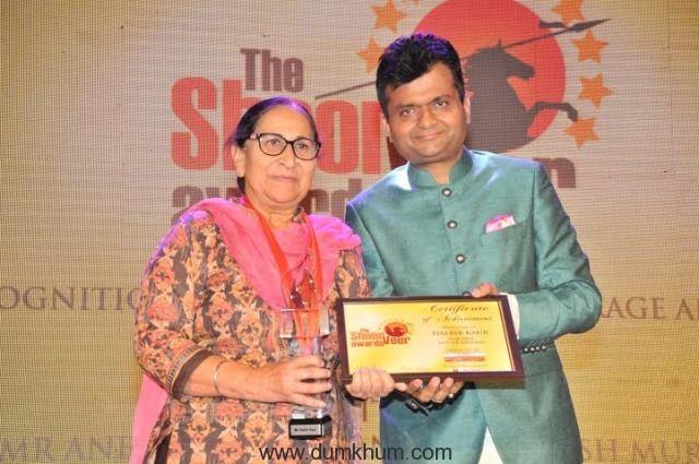 Aneel Murarka with Dalbir Kaur
