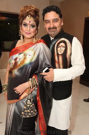 Beauty Expert Meenakshi Dutt and Umesh Dutt