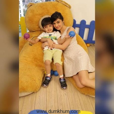 Divya Khosla Kumar celebrates Mothers Day 2016 with her son Ruhaan!