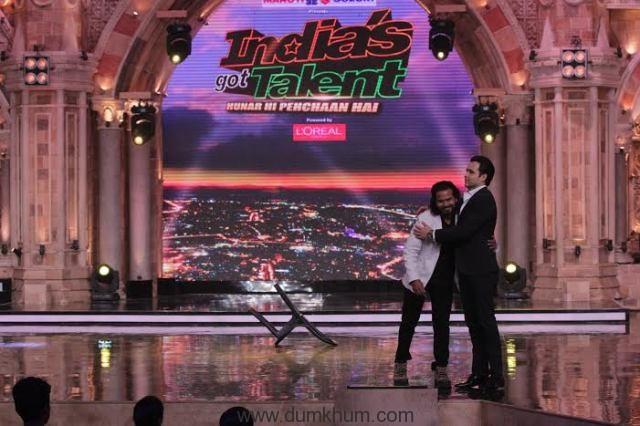 Emraan Hashmi's Duplicate on India's Got Talent (