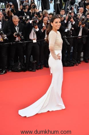 """attends the """"Cafe Society"""" premiere and the Opening Night Gala during the 69th annual Cannes Film Festival at the Palais des Festivals on May 11, 2016 in Cannes, France."""