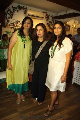 Farah Khan with Bhumika & Jyoti.