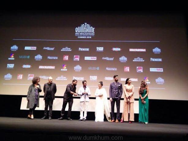 First Screening of Raman Raghav 2.0 at Cannes!
