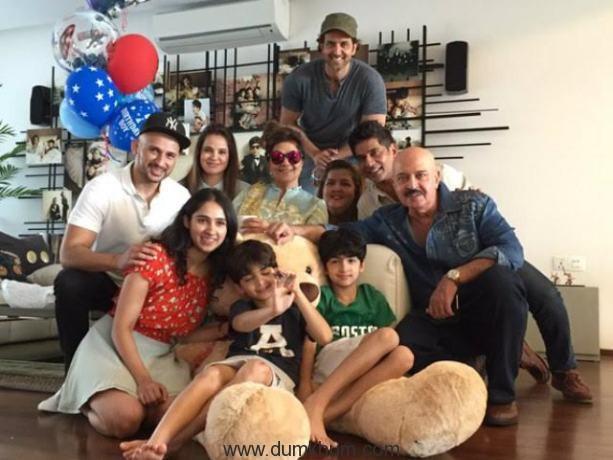 Hrithik makes son Hridaan's birthday special!
