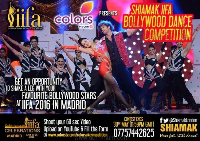 Colors TV presents SHIAMAK IIFA Dance Competiton