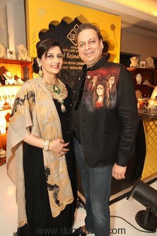 Jewelery Designers Poonam and Chandra Surana