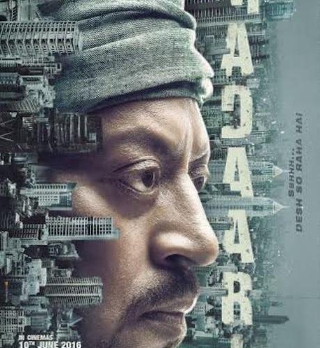 Irrfan Khan starrer Madaari's First Poster Out