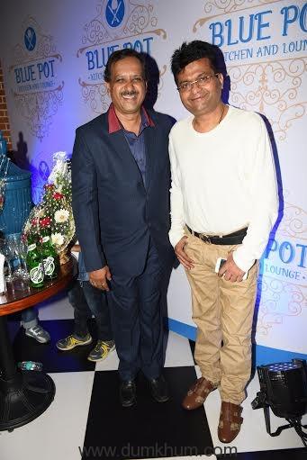Mukesh Gupta with Aneel Murarka