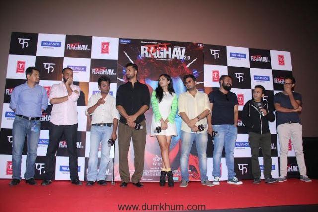 Nawazuddin Siddiquee & Anurag Kashyap & Team Raman Raghav