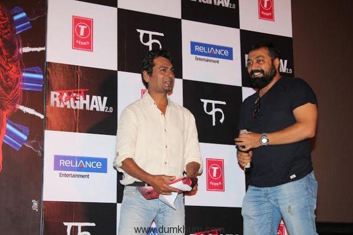 Nawazuddin Siddiquee & Anurag Kashyap