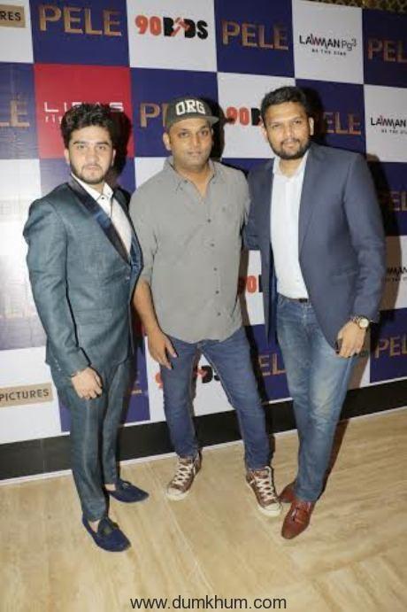 Nikhil Ghai, Arnav Shirsat and Raghav Rishi