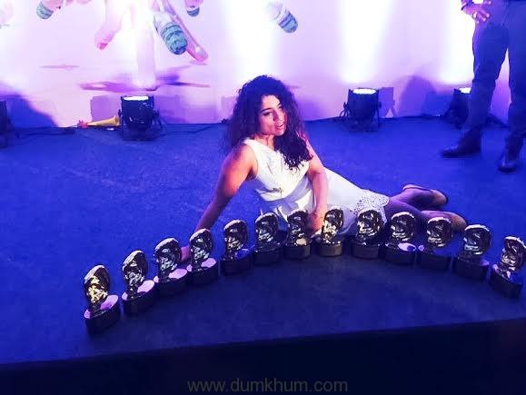 RJ Malishka at the Indian Radio Forum Awards