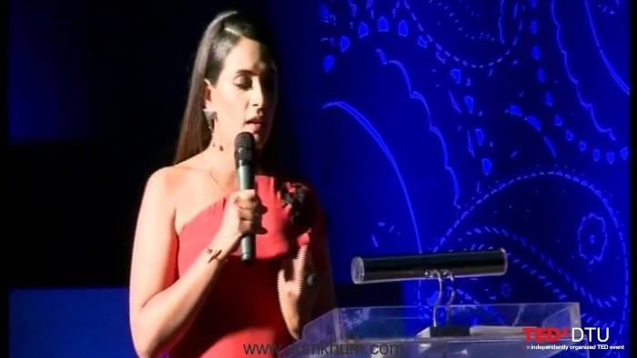 Richa Chadha bears it all in her TedX Video