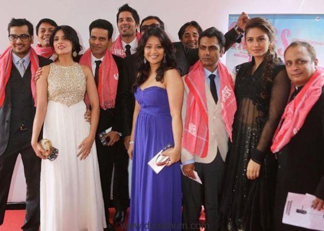 Richa , Manoj, Nawazuddin & Huma at Cannes