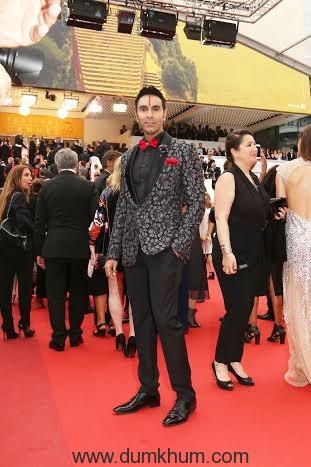 Sandip Soparrkar at 69th Cannes film festival