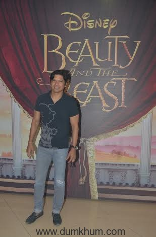 Shaan at Beauty and the Beast Musical.