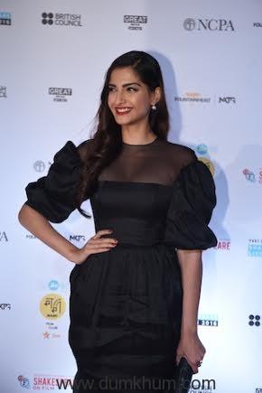 Sonam Kapoor (3) at MAMI film club launch.