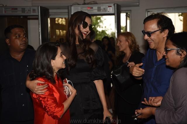 Sonam Kapoor, Anupama Chopra, V ... nt at MAMI film club launch