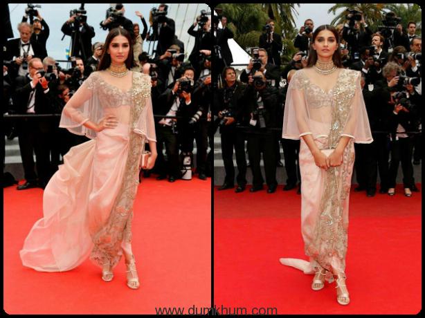Sonam Kapoor – The Original & our 5 favorite Cannes Fashion moments !