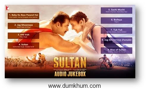 Yash Raj Films' Sultan Ka Zabardast Music OUT NOW!