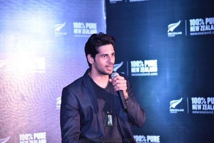 Sidharth Malhotra shares his New Zealand memories in Ahmedabad