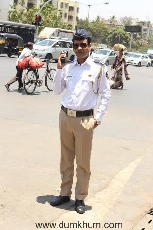 When Manoj turned a traffic cop for a day-1