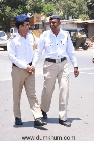 When Manoj turned a traffic cop for a day.