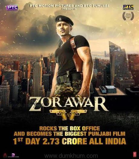 Zorawar rocks the box office – becomes the biggest Punjabi film of 2016!