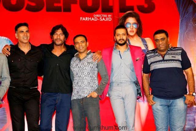 Akshay Kumar, Abhishek Bachchan, Riteish Deshmukh, Boman Irani-