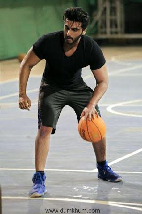 Arjun Kapoor turns basketball player