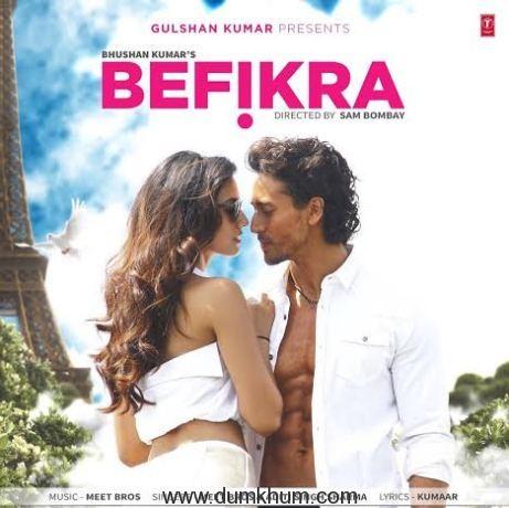 First Look of Bhushan Kumar's Befikra starring Tiger Shroff and Disha Patani