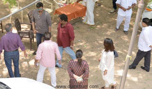 Chiranjeevi Film shoot 2