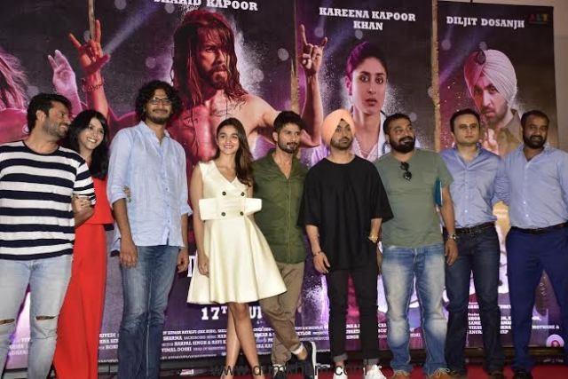 Director- Abhishek Chaubey, Ekta Kapoor & Vikas Bahl , Anurag , Shahid & Alia & Madhu Mantena