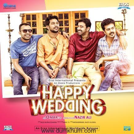 HAPPY WEDDING.