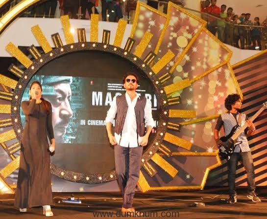 Irrfan Khan at Vivia ... is upcoming movie Madaari.