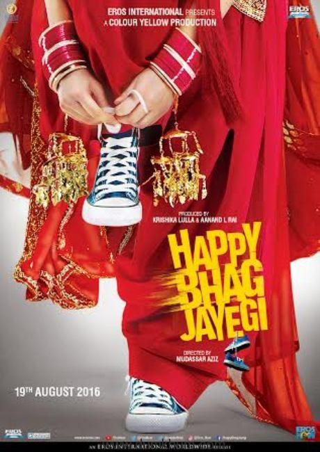 Motion poster of Happy Bhag Jayegi