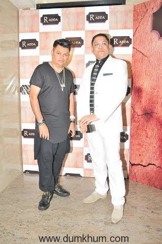 Nihit Srivastava with DJ Akhtar