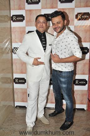 Nihit Srivastava with Gaurav Parikh
