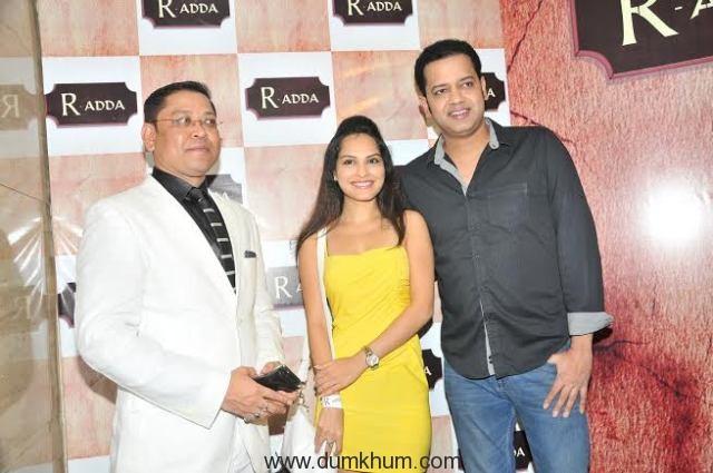 Nihit Srivastava with Rahul Mahajan