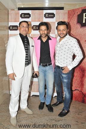 Nihit Srivastava with Umesh ... ni and Gaurav Parikh