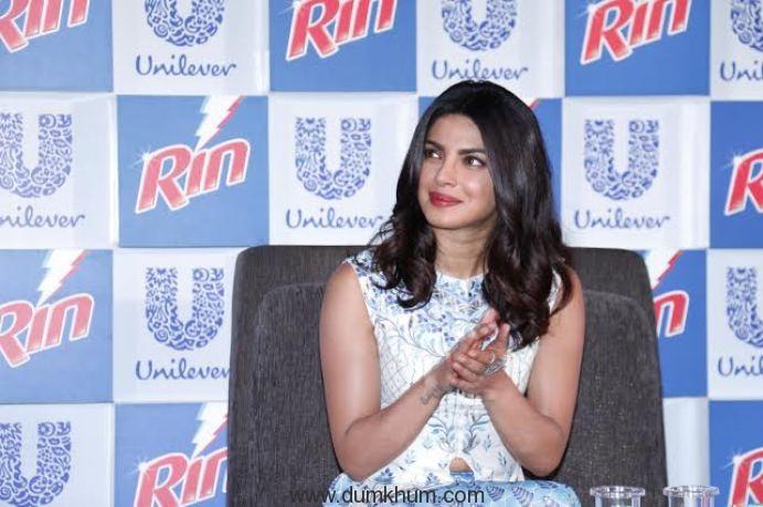 Priyanka Chopra salutes the shine and courage of Indian women with 'RIN – Jai Gangaajal Anthem'