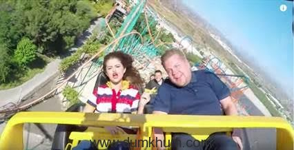 Selena Gomez & James Corden Carpool Karaoke-1