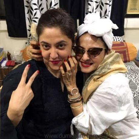 Shaina Nath (Stylist) & Rekha (Veteran Actress)