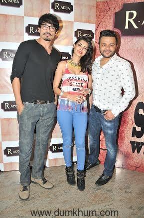 Shawar Ali with Gaurav Parikh