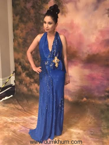 Sheetal Mafatlal dazzles in couture at the Rio Carnival Ball hosted by Woman India Association in London!