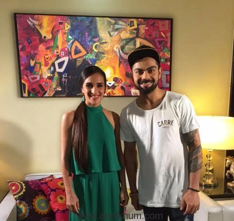 Tara and Virat Kohli