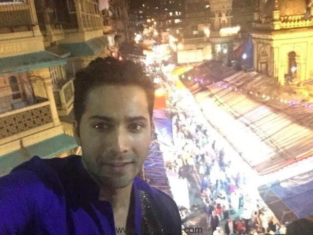 Varun Dhawan at Mohamad Ali road